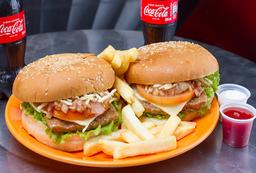2 x Burgers Sencillas