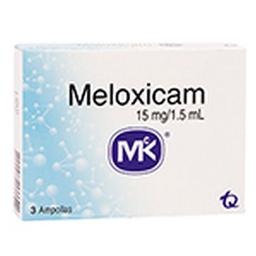 Meloxicam 15Mg/1.5Ml Cjx3Amp T.Q