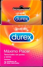 Condones Durex Max Placer Cjx3Un Rki