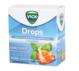 Vick Drops Mentol Cjx25Tab P&G