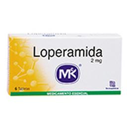 Loperamida 2Mg Cjx6Tab T.Q