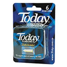 Condones Today Lubricado Cjx6Und