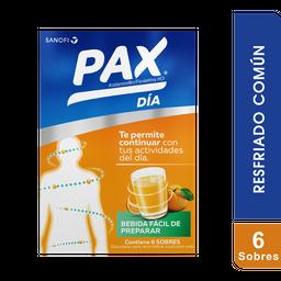 Pax Día 6 g Caja X 6 Sobres