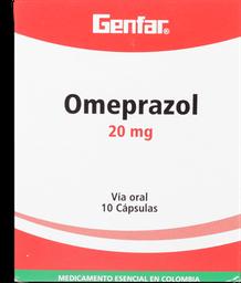 Omeprazol 20Mg Cjx10Caps Gef