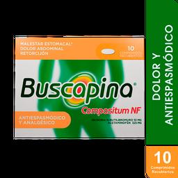 Buscapina Compostium Nf 10/325Mg X 10 Comprimidos