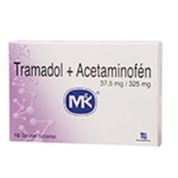 Tramadol+Acetam 37.5 Cjx10Tab T.Q