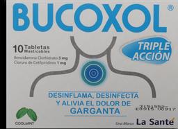 Bucoxol Cool Mint Cjx10Tab Lst