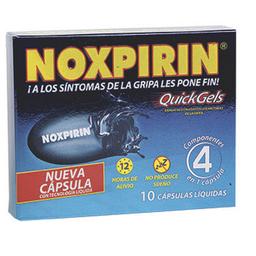 Noxpirin Quick Gels Cbl Cjx10Cap Sir
