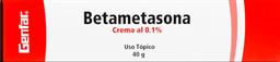 Betametasona 0.1% Cr Tubx40G Gef