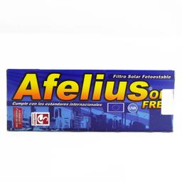 Afelius Oil Free Cr Tbox60G D&E