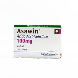 Asawin Ped 100Mg Blister X 10 Tableta Av