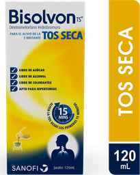Bisolvon Tos 10Mg/5Ml X 120Ml. Tos Seca