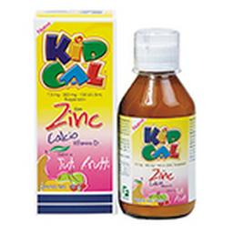Kid Cal Zinc Tuti Fruti Fcox180Ml G