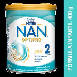 Fórmula Infantil Nan Optipro 2X 400 G