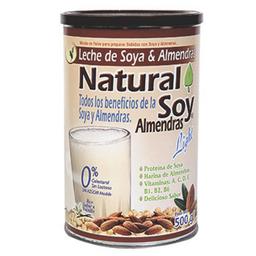 Natural Soy Leche De Soya y Almendras