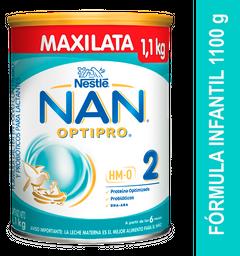 Fórmula Infantil Nan Optipro 2 X 1100 G