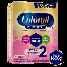 Fórmula infantil Enfamil Premium Etapa 2 x 1650g