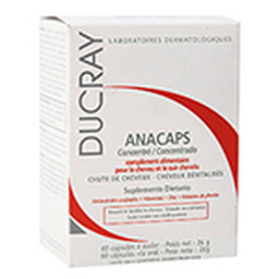 Ducray Anacaps Cjx60Cap Per