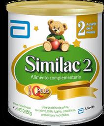 Similac 2 Prosens 6-24Mes Latx850G Abt