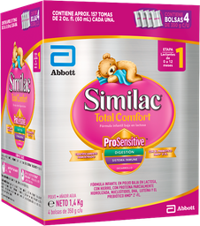 Similac Total Comfort 1 HMO Caja X1400G