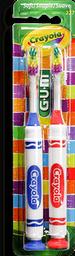 Cepillo Crayola Market 2X1 Ni?Os Sut