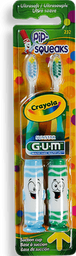 Cepillo Crayola Pip Squeaks 2X1Ni?Os Sut