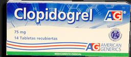 Clopidogrel 75Mg Cjx14Tab Lfc