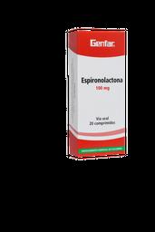 Espironolactona 100Mg Cjx20Tab W8P