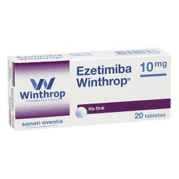 Ezetimiba Winthrop 10Mg Cjx20Tab Lko