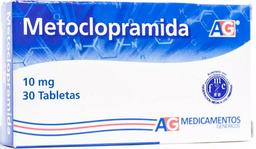 Metoclopramida 10Mg Cjx30Tab Lfc