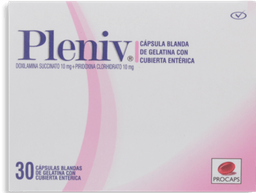 Pleniv 10Mg/10Mg Cbl Cjx30Cap Pop