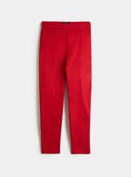 Pantalón Tiro Medio Unicolor.
