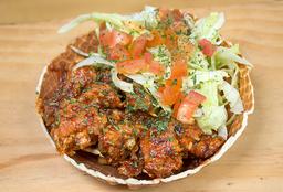 Crunchy Bowl con ensalada 🍗🥗