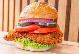 Hamburguesa Chicken Sándwich Bites