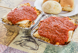 2 Lasagnas Boloñesas