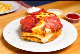 Bi Food Burguerpizza Sencilla con Chorizo