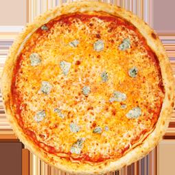 Pizza Rústica Quattro Formaggi