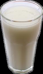 Jugo natural en leche