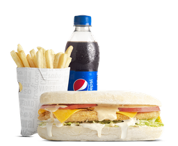 Combo Sándwich Sub Clásico Apanado