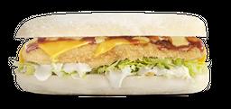 Sándwich Sub Apanado BBQ