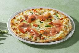 Pizza al Horno con Esparragos