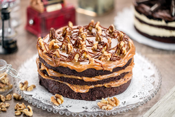 Torta de Chocolate  Walnut