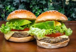 Hamburguesas DUO Vegetariana Criolla