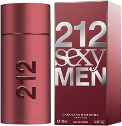 Carolina Herrera 212 Sexy Men 3.4 Oz