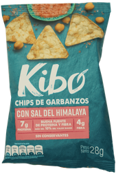 Kibo-Chips de Garbanzo sabor Sal del Himalaya 28g