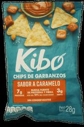 Kibo-Chips de Garbanzo sabor Caramelo 28g