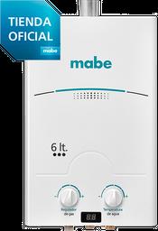 Calentador de Tiro Forzado 6L Blanco Mabe - CMD6TFBC