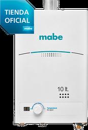 Calentador de Tiro Forzado 10L Blanco Mabe - CMD10TFBC
