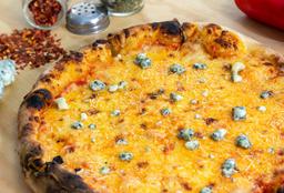 Pizza cuatro quesos Grande