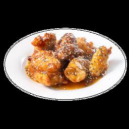 Pollo Crocante de Ajonjolí Media Porción